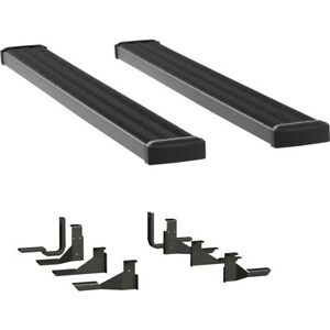 415102 401117 Luverne Set Of 2 Running Boards New For Chevy Silverado 1500 Pair