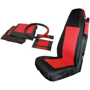 Sc10030 Rt Off Road Kit Seat Cover Front New For Jeep Wrangler 87 95 97 2002
