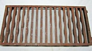 Vintage Metal Floor Wall Vent Register Grate The Adams Co Dubuque Iowa