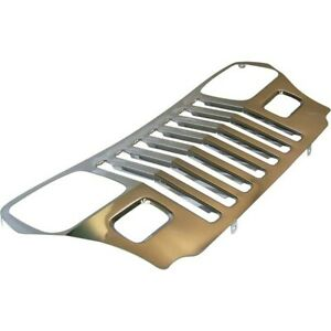 Rt34044 Rt Off road Grille New For Jeep Wrangler 1987 1995