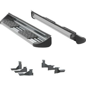 481143 581143 Luverne Running Boards Set Of 2 New Polished For Chevy Gmc Pair