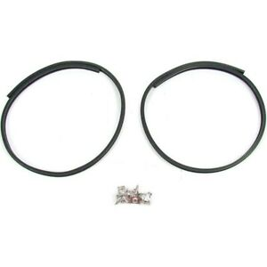 Cs 1110 47 Precision Parts Hood And Trunk Weatherstrip Seal Kit Rear New For 100