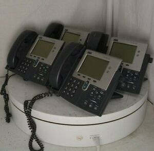 Lot Of 4 cisco 7941 Cp 7941g ge Ip Phones 7900 Series See Notes