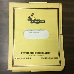 Pettibone 70 90 Crane Operators Service Manual Guide Swing Cab Multikrane