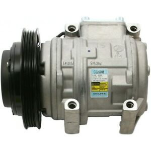 Cs20098 Delphi A C Ac Compressor New For Truck With Clutch Toyota Corolla Pickup