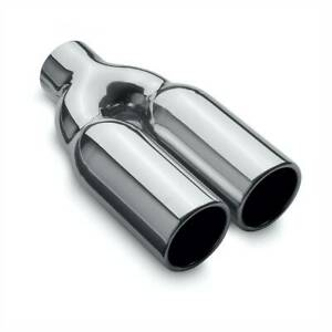 35167 Magnaflow Exhaust Muffler Tail Tip Pipe New Dual