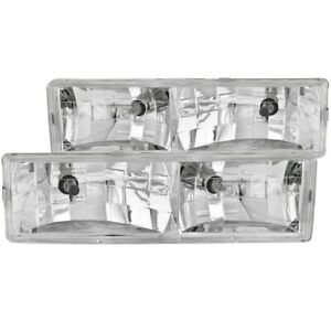 Anzo 111004 Headlight For 88 98 Chevrolet C1500 Left And Right
