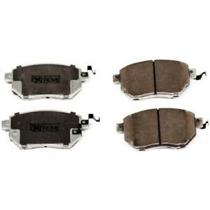 Z26 1609b Powerstop Brake Pad Sets 2 wheel Set Front New For 330 3 Series Bmw X5