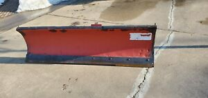 Western Snow Plow Blade Assembly 7 2 Lsx With The Cutting Edge Bracket 63472