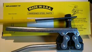 Roller Chain Breaker Tool For 60 Thru 100 Chain Made In Usa