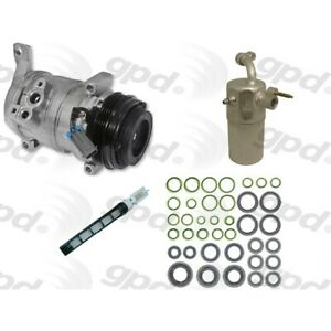 9611809 Gpd A c Ac Compressor Kit New For Chevy Avalanche Suburban With Clutch