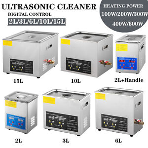 High Power Ultrasonic Cleaner Jewelry Cleaner Cleaner heater Timer