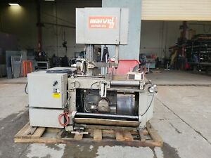 Marvel Series 81a Band Saw Metal Cutting Sawing Metalworking Fabrication