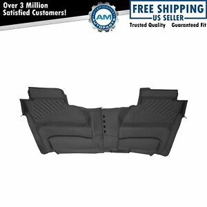 Oem All Weather Floor Mat Pair Lh Rh Rear For Chevy Gmc Pickup Truck Crew Cab
