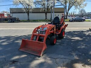 2013 Kubota Bx25d 4wd Backhoe Wheel Loader Tractor Pto Diesel 4x4 Low Hours