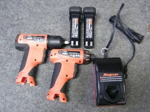 Snap On Ct596o 9 6v 3 8 Cordless Impact Wrench Cts596o 1 4 9 6v Screwdriver