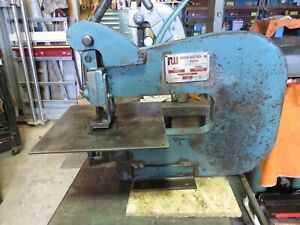 Roper Whitney 218 Punch Press With Gage Work Table diacro pexto