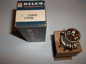 Gm Delco Radio Volume Control Pontiac Olds Cadillac Buick Chevrolet 7269483
