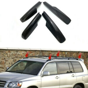 For Toyota Highlander Xu20 2001 2007 Roof Rack Cover Rail End Shell Replacement