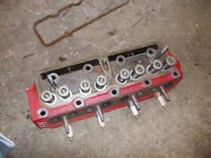 Mccormick Farmall F14 Tractor Ih Engine Motor Cylinder Head Valves 5643d