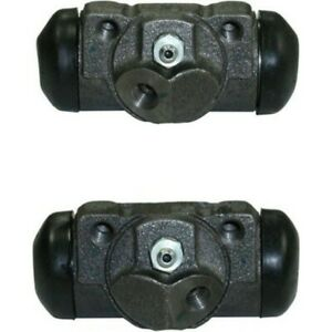 Set ce134 61006 r Centric Set Of 2 Wheel Cylinders Rear Driver Passenger Pair