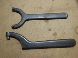 Older Armstrong 34 225 And 34 116 Spanner Wrenches Machinist Tooling