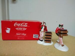 Dept 56 snow village coca cola