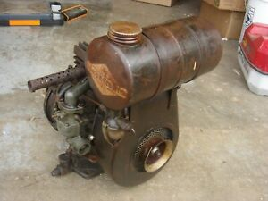 Rare Vintage Briggs Stratton Gear Reduction Engine Gas Motor Model 8 N B s