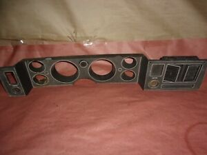 79 81 Camaro Rs Z28 Front Dash Bezel 2 Used 476637 Came Out A 1981 Camaro
