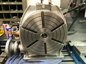 12 Phase Ii Rotary Table Horizontal And Vertical