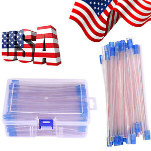 Dental Disposable Saliva Ejector Clear With Blue Tip Dental Suction Saliva Tips
