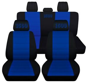 Customized Seat Covers Fits 2010 2020 Dodge Ram 1500 Embroidered Abf