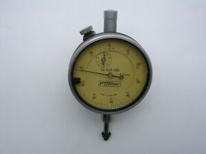 Vintage Fowler Dial Indicator 52 520 300 0 01mm Graduation Full Size