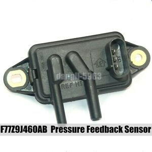Egr Pressure Feedback Sensor F77z9j460ab For Ford Mercury Lincoln Mazda Truck Us