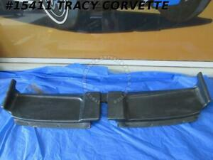 1968 1975 Corvette Soft Top Convertible Header Trim Gm 3930340 Panel Original 4