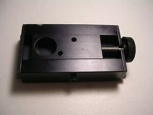 New Lot Of 6 Linear Positioning Or Adjusting Blocks Hand Operated Positioners