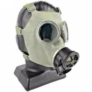 Large Polish Military Gas Mask 40mm Nuclear Biological Chemical Protection Nbc