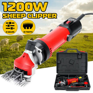 220v 1200w Sheep Goat Shears Clippers Electric Animal Shave Grooming Farm