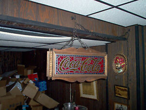 COCA COLA LIGHT - HANGS FROM CEILING - SEE DESCRIPTION