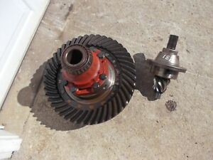 Ford 881 Tractor Rear Transmission Ring Pinion Drive Gear Assembly Match Set