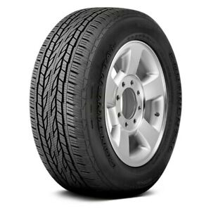 Continental Set Of 4 Tires 255 65r17 S Crosscontact Lx20 Truck Suv