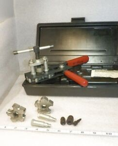 Flaring Tool Kit Jasco Wolco Model 100 Lite Use Very Nice great Carry Case
