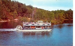 HURON NATIONAL FORESTMICHIGAN RIVER QUEEN SCENIC BOAT 1961 MICH H* $1.00