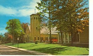 HOUGHTON LAKE MICHIGAN OUR LADY OF THE LAKE G39 MICH H#2* $1.00