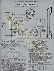 1922 1924 Hudson Super Six Car Wiring Diagram Electric System Specs 527