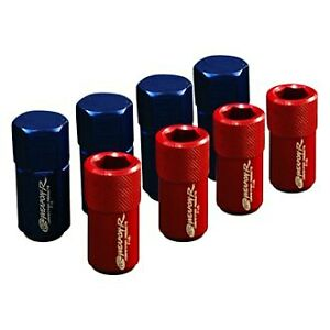 Weapon r 822 117 101 Type S Silver Flat Seat Racing Lug Nuts