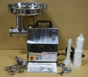 refurb American Eagle Ae g12ss 12 1hp Stainless Steel Commercial Meat Grinder
