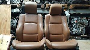 Bmw 335i 2 Front Seats Convertible Leather Sport Seat Style 2007 12
