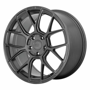 Four 4 18x8 5 Motegi Cm7 Et 42 Gun Metal 5x108 5x4 25 Wheels Rims