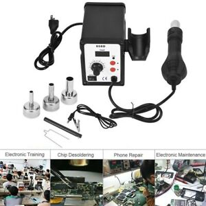 858d Smd Brushless Heat Gun Hot Air Rework Soldering Station 700w 220v 2020